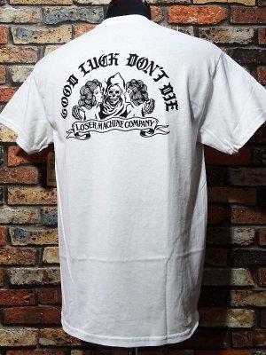 LoserMachine ルーザーマシーン Tシャツ (NO TROUBLE) カラー:ホワイト