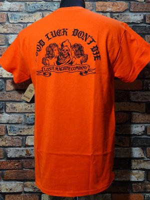 LoserMachine ルーザーマシーン Tシャツ (NO TROUBLE) カラー:オレンジ