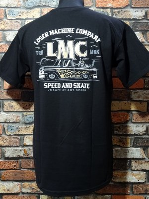 LoserMachine ルーザーマシーン Tシャツ (KUSTOM) カラー:ブラック