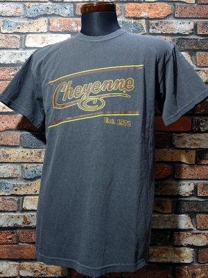 kustomstyle-Cheyenne シャイアン Tシャツ (CHT2001PE) cheyenne icon カラー:ブラック