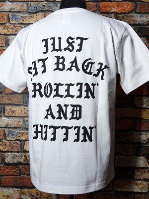 kustomstyle カスタムスタイル Tシャツ (KST2020WH) rollin and hittin カラー:ホワイト