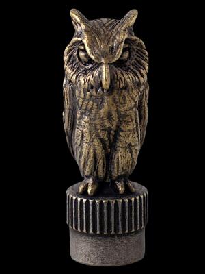 UNCROWD アンクラウド バルブキャップ (UC-902) VALVE CAP -owl- Brass