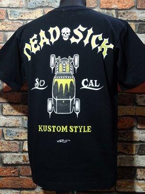 kustomstyle カスタムスタイル Tシャツ 20th ANIV. REPRINT SERIES (KST0305BK) dead sick カラー:ブラック