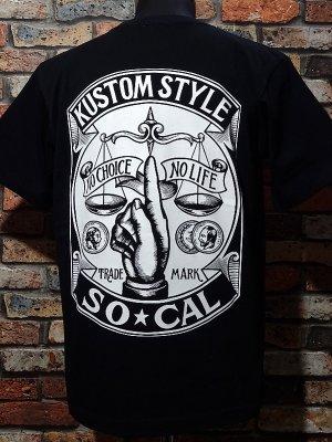 kustomstyle カスタムスタイル Tシャツ 20th ANIV. REPRINT SERIES (KST00802BK) rinpyo カラー:ブラック