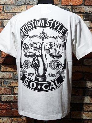 kustomstyle カスタムスタイル Tシャツ 20th ANIV. REPRINT SERIES (KST00802WH) rinpyo カラー:ホワイト
