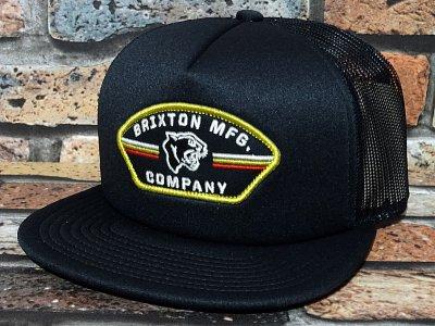 BRIXTON ブリクストン メッシュキャップ (RAMPANT MP MESH CAP) カラー:ブラック