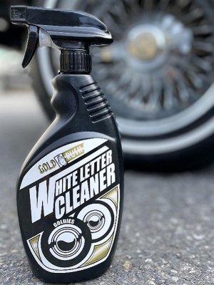 GoldRush ゴールドラッシュ WHITE LETTER CLEANER GOLD RUS ホワイトレタータイヤ ホワイトリボン ホワイトウォール タイヤ 洗浄