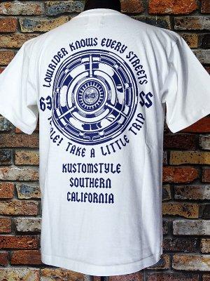 kustomstyle カスタムスタイル Tシャツ (KST2106WH) chale カラー:ホワイト