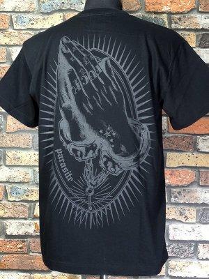 parasite パラサイト Tシャツ (NEW PRAYER)  カラー:ブラック×ブラック