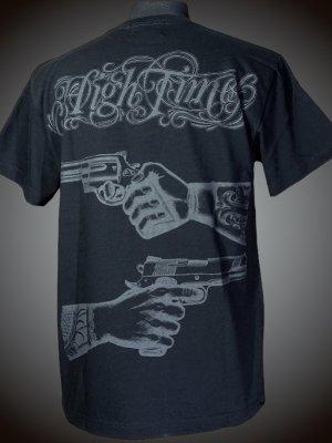 parasite パラサイト Tシャツ (HIGH TIMES)  カラー:ブラック×ブラック