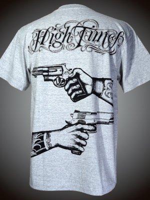 parasite パラサイト Tシャツ (HIGH TIMES)  カラー:グレー×ブラック