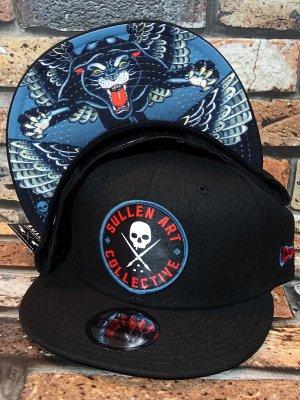 sullen clothing サレンクロージング スナップバックキャップ (BLAQ MAGIC) new era 9fifty snap back cap カラー:ブラック