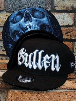 sullen clothing サレンクロージング スナップバックキャップ (KOBASIC SKULL) new era 9fifty snap back cap カラー:ブラック