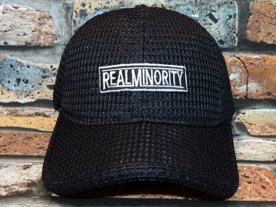 RealMinority リアルマイノリティー  メッシュキャップ (RealMinority)   カラー:ブラック