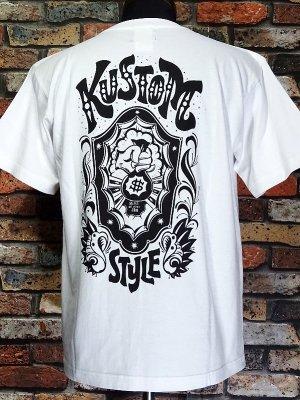 kustomstyle カスタムスタイル Tシャツ 20th ANIV. REPRINT SERIES (KST0202WH) $ カラー:ホワイト