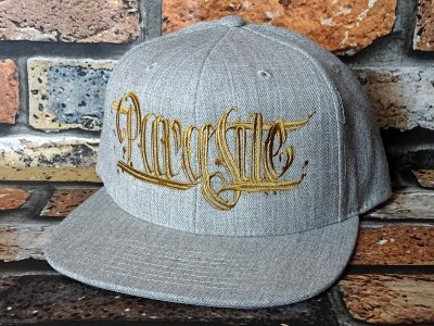 parasite パラサイト スナップバックキャップ (PARASITE CAP) snapback cap カラー:HGY×GO