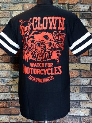 LoserMachine ルーザーマシーン Tシャツ (DON'T CLOWN) カラー:ブラック