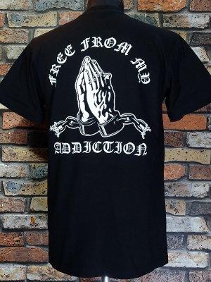 FFMA (FREE FROM MY ADDICTION) Tシャツ (LOGO) カラー:ブラック