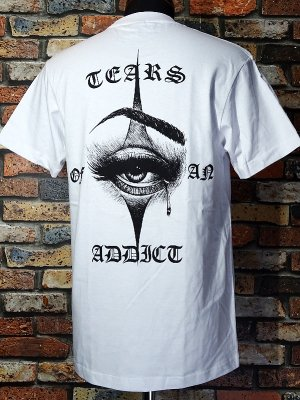 FFMA (FREE FROM MY ADDICTION) Tシャツ (Tears Of An Addict) カラー:ホワイト