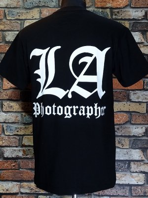 FFMA (FREE FROM MY ADDICTION) Tシャツ (LA Photographer) カラー:ブラック