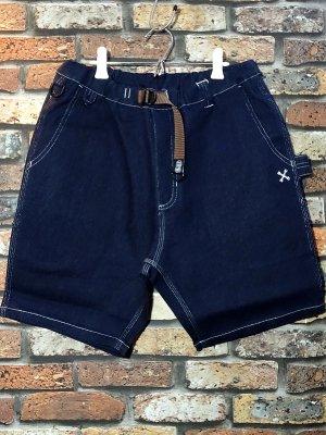 Bluco ブルコ  ストレッチイージーショーツ (OL-005D-021) stretch easy shorts カラー:インディゴ