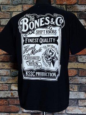 kustomstyle カスタムスタイル Tシャツ 20th ANIV. REPRINT SERIES (KST0902BK) bones & co カラー:ブラック