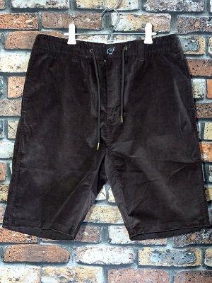 kustomstyle カスタムスタイル ストレッチコーデュロイ イージーショーツ (KSSP2003CORBR) classic wheels corduroy shorts カラー:ブラウン