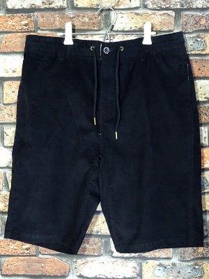 kustomstyle カスタムスタイル ストレッチコーデュロイ イージーショーツ (KSSP2003CORBK) classic wheels corduroy shorts カラー:ブラック