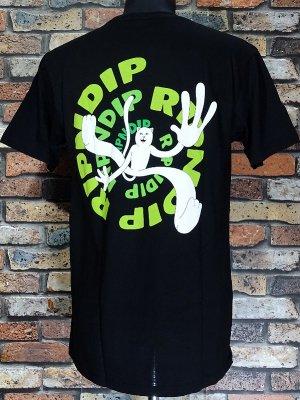 RIP N DIP リップンディップ Tシャツ (Descending) カラー:ブラック