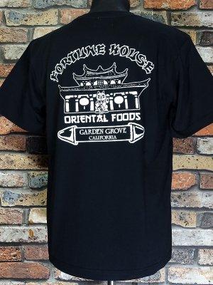 kustomstyle-Cheyenne シャイアン Tシャツ (CHT2101BK) fortune house カラー:ブラック