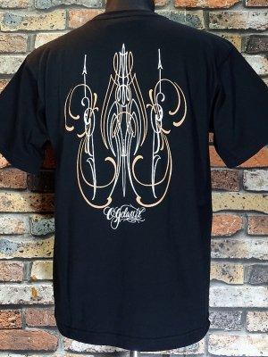 OG Classix オージークラッシックス Tシャツ (ORIGINAL PINSTRIPE) 6.2oz カラー:ブラック