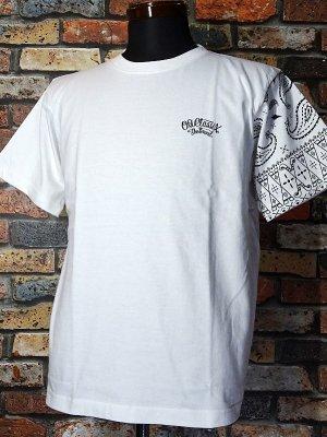 OG Classix オージークラッシックス Tシャツ (OG540) life line paisley bandana 6.2oz カラー:ホワイト