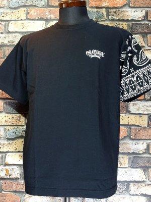OG Classix オージークラッシックス Tシャツ (OG540) life line paisley bandana 6.2oz カラー:ブラック