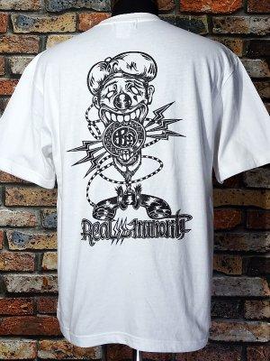 RealMinority リアルマイノリティー  Tシャツ (communication-021) Loose fit T-shirt カラー:ホワイト