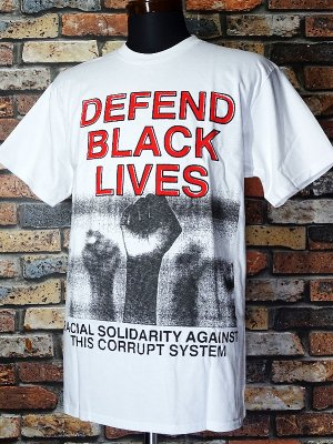 OBEY オベイ Tシャツ DEFEND BLACK LIVES カラー:ホワイト