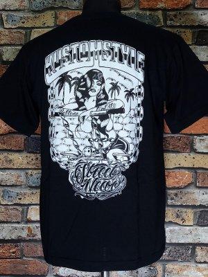 kustomstyle カスタムスタイル Tシャツ (KST2111BK) rollerz only  カラー:ブラック