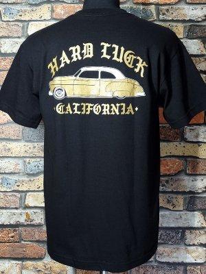 HardLuck ハードラック Tシャツ (LOWRIDE CA) カラー:ブラック