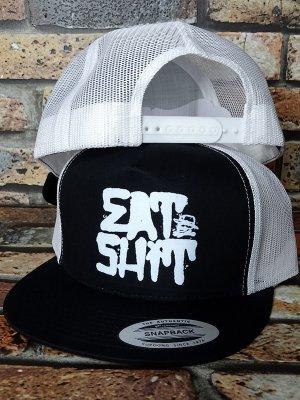 HardLuck ハードラック スナップバック メッシュキャップ  (EAT SHIT) snapback trucker cap カラー:ブラック