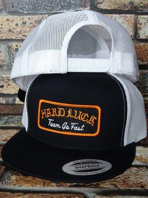 HardLuck ハードラック スナップバック メッシュキャップ  (POOL SERVICE) snapback trucker cap カラー:ブラック