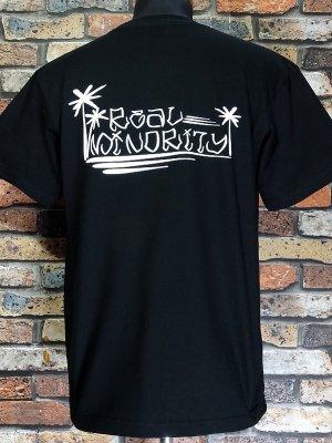 RealMinority リアルマイノリティー  Tシャツ (Tree) 7.4oz Heavyweight T-shirt カラー:ブラック