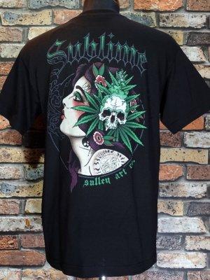 SullenClothing サレンクロージング x SUBLIME サブライム Tシャツ (STRAINS) カラー:ブラック