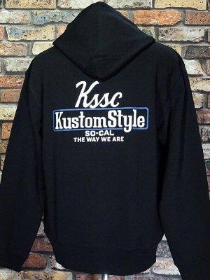 kustomstyle スウェットプルオーバーパーカー (KSP2102BK) the way we are pullover hoodie カラー:ブラック