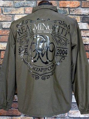 RealMinority リアルマイノリティー コーチジャケット (Coat of arms) カラー:シールブラウン