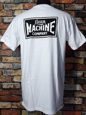 LoserMachine ルーザーマシーン ポケット付きTシャツ (NEW-OG) カラー:ホワイト