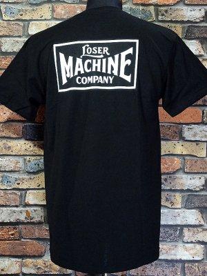 LoserMachine ルーザーマシーン ポケット付きTシャツ (NEW-OG) カラー:ブラック