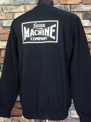 LOSER MACHINE ルーザーマシーン  クルーネック スウェットトレーナー (NEW OG WICKING) CREWNECK  カラー:ブラック