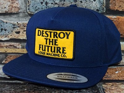 LoserMachine ルーザーマシーン キャップ (DESTROY) snapback cap カラー:ネイビー