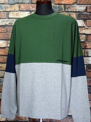 kustomstyle カスタムスタイル ロングスリーブTシャツ(KSTL2118GR) originals long sleve tee カラー:グリーン