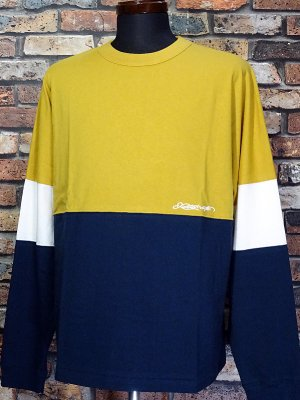kustomstyle カスタムスタイル ロングスリーブTシャツ(KSTL2118MUS) originals long sleve tee カラー:マスタード
