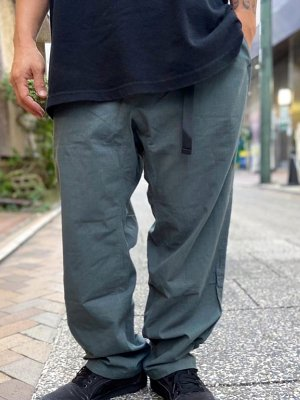 kustomstyle カスタムスタイル クライミングパンツ (KSLP2104GR) TRI-FIVE ripstop cotton climing pants カラー:グリーン
